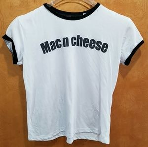 Mighty Fine Tops - Mac and cheese graphic tee